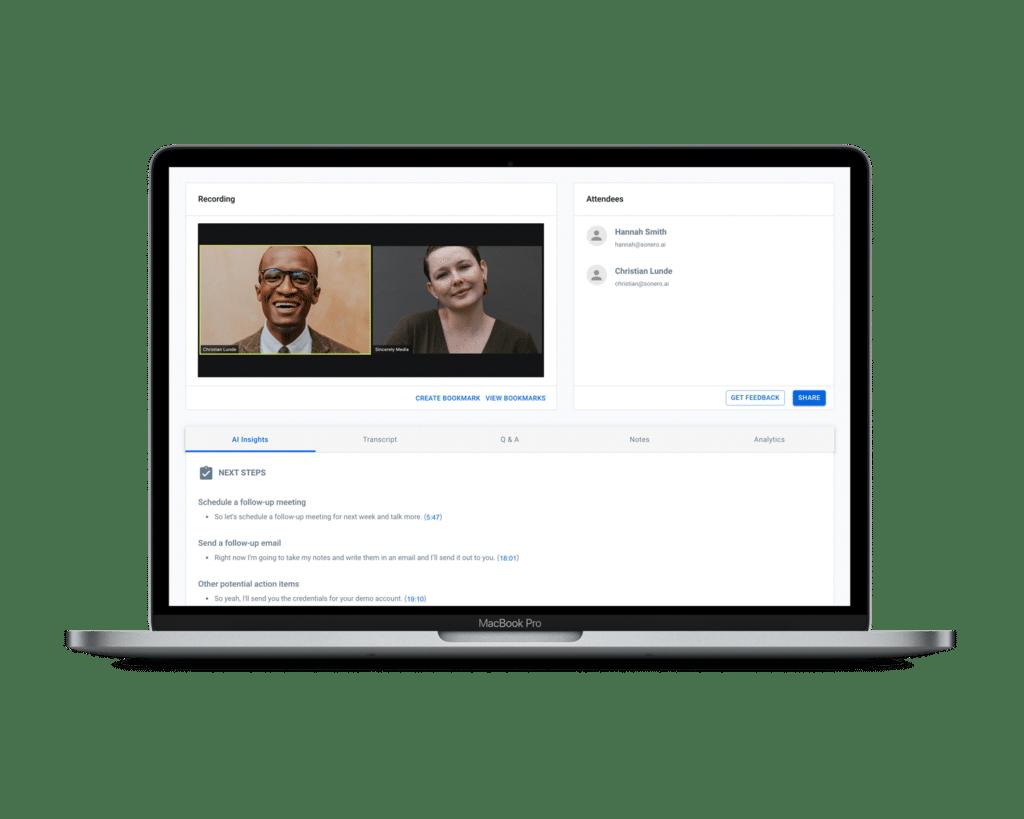 AI for virtual meetings
